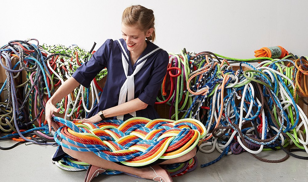 Meet the Nautical-Rope Artist Who's Making Doormats Beautiful