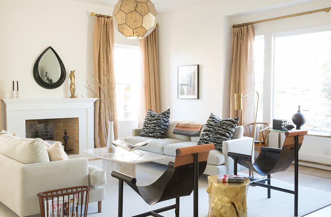 Tamara Honey designed the living room.