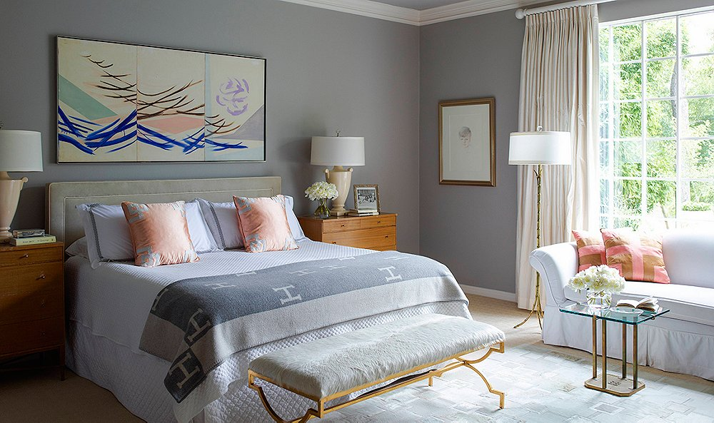 9 top designers share their favorite gray paint colors - Good Paint Colors For Living Room