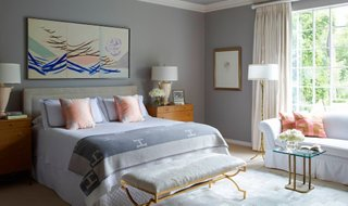 bedroom gray paint ideas