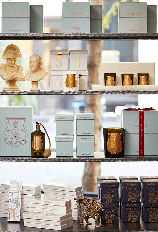 Candles and room sprays by Paris-based Cire Trudon make luxurious holiday gifts. (We're obsessed with the gorgeous packaging.)