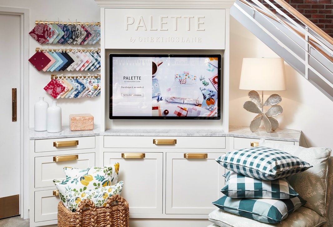 Create a custom piece of furniture with Palette by One Kings Lane—it couldn't be easier (or quicker!).