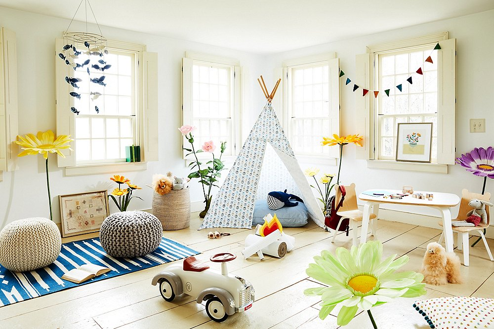 Fun & Functional Playroom Decorating Ideas
