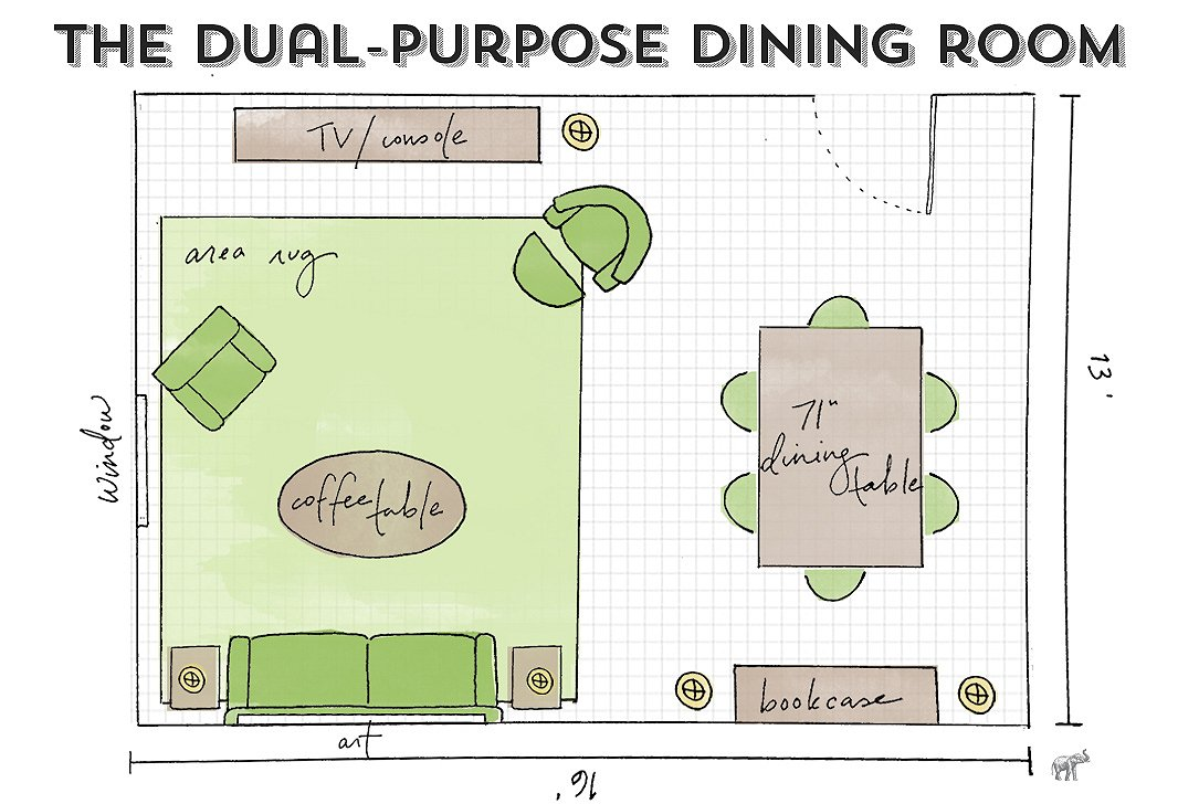 Dining room guide how to maximize your layout for 10 x 12 living room layout
