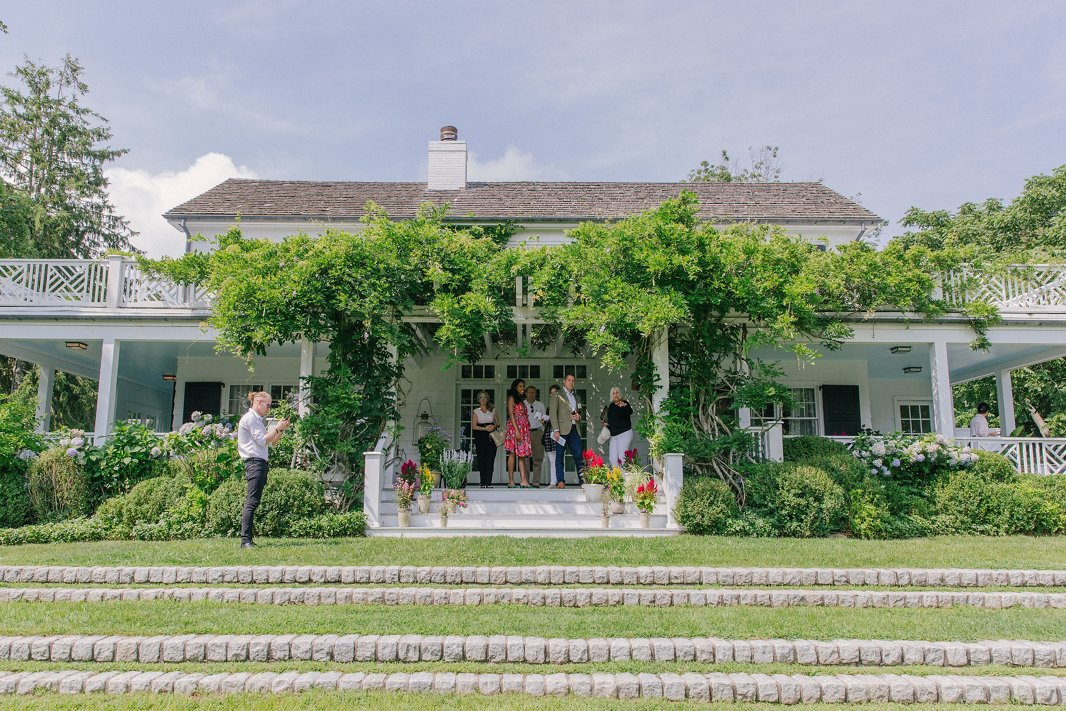 Designed by Miami-based Hernán Arriaga, Rita Schrager's home has a classic Hamptons aesthetic with elements that reflect her Latin heritage (she dubbed the property Casa Cuba) and global travels.