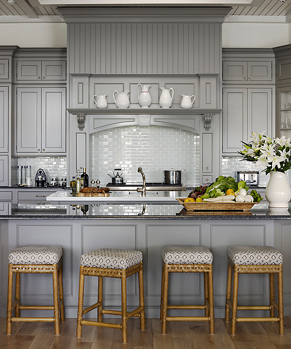 Gray Rooms Were Loving Right Now One Kings Lane LiveLoveHome - Gray paint for kitchen walls