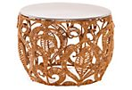"Ora 25""Dia Side Table, Copper"