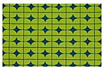 Loano Outdoor Rug, Lime/Blue