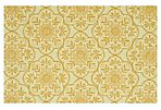 Pieve Outdoor Rug, Ivory/Buttercup