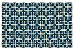 Varazze Outdoor Rug, Blue