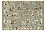 Hanoch Flat-Weave Rug, Blue