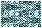 Evie Outdoor Rug, Sea/Blue