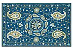Cecilie Rug, Blue/Green