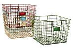 S/4 Wire Locker Baskets