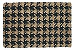 Kelly Jute Rug, Black/Tan