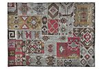 Patchwork Kilim, Charcoal/Multi