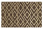 Annabel Jute Rug, Chocolate