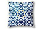 Rhome 20x20 Outdoor Pillow, Blue