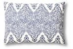 Marin 14x20 Cotton Pillow, Blue