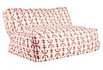 Anchor Outdoor Lounge Chair, Red