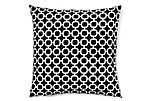 Hockley 20x20 Outdoor Pillow, Black