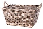 Rattan Storage Bin, Rectangular