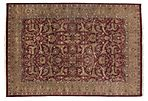 10'x14' Agra Rug, Red/Dark Gold