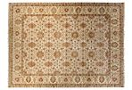 "9'1""x12'2"" Taj Rug, Beige/Soft Yellow"
