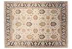 10'x14' Aruni Rug, Ivory/Denim Blue