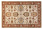 "4'1""x5'11"" Brentwood Rug, Ivory/Rust"
