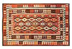 "6'4""x9'9"" Tribal Kilim Rug, Multi"