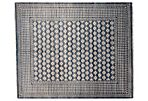 10'x14' Khotan Rug, Denim Blue/Ivory