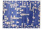 9'x12' Summer Rug, Blue/Ivory
