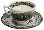 Tea Cup Candle, Coriander/Lemongrass