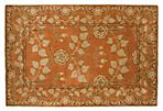 Anoush Rug, Orange/Beige