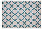 Horatio Flat-Weave Rug, Blue