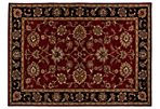 Martha Rug, Red/Black