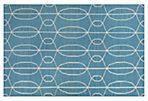 Amelia Flat-Weave Rug, Blue