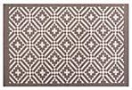 Jamal Flat-Weave Rug, Gray/Ivory
