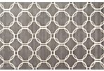 Grace Rug, Gray/Ivory