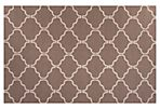"2'6""x8' Jack Flat-Weave Runner, Taupe"
