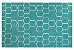 Dane Flat-Weave Rug, Blue