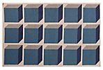 Milena Flat-Weave Rug, Blue/Ivory