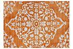 Marlene Rug, Orange/Ivory
