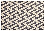 Radom Outdoor Rug, Ivory/Gray