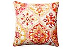 San Telmo 20x20 Pillow, Orange