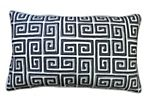 Coil 12x20 Cotton Pillow, Gray