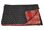 Hand-Stitched Kantha Throw, Multi