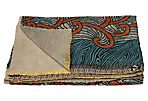 Hand-Stitched Kantha Throw, Multi