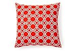 Terrace 20x20 Outdoor Pillow, Poppy